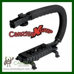 Camzilla X-GRIP Professional Camera / Camcorder Action Stabilizing Handle