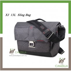 XJ 13L Sling Bag ( Dark Grey )