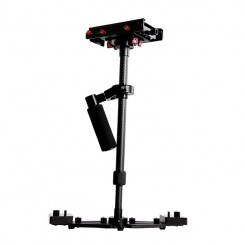 FlimMaker S700 Professional Handheld Stabilizer - Black + Red