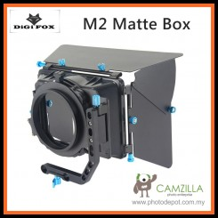 Digi Fox M2 PRO Sunshade Matte Box Mattebox f 15mm Rod Rail DSLR Support Rig
