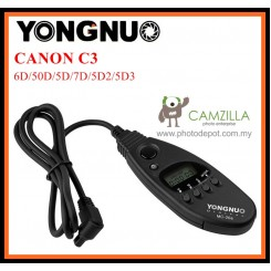 Yongnuo MC-20 (C3) Timer Remote Cord For 6D/50D/5D/7D/5D2/5D3