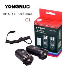 YONGNUO RF-603 II C1,RF603II C1 Wireless Flash Trigger 2 Transceivers for Canon 70D 60D 650D 700D 600D 550D 450D 100D 1100D