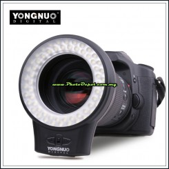 YongNuo WJ-60 Digital Macro Photography LED lights for Canon Nikon Pentax...etc. DSLR Camera Lens