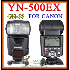 Yongnuo YN500EX YN-500EX ETTL High Speed HSS Portable Flash Speedlite for CANON