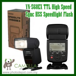 Yongnuo YN568EX YN-568EX TTL High Speed Flash Speedlite for CANON