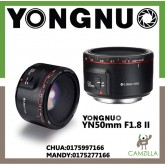 YONGNUO YN50mm F1.8 II FOR CANON