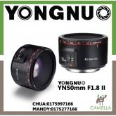 YONGNUO YN50mm F1.8 II FOR CANON