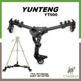 Yunteng YT-900 Pro 3 Wheels Pulley Universal Folding For Camera Tripod