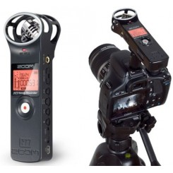 ZOOM H1 - Handy Audio Recorder For  DSLR/Videocam Audio Kit - Black (Free Shipping)