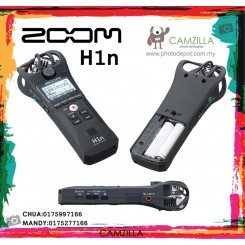 Zoom H1n Digital Handy Recorder (Black)