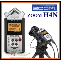 ZOOM H4n - Handy 4 Track Audio Mic Recorder - Perfect for use on a video or DSLR camera