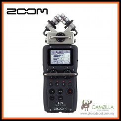 Zoom H5 XYH-5 Handy Recorder Audio Recorder - Free Shipping (Malaysia Warranty)