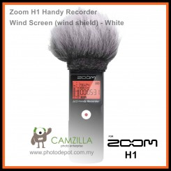 Zoom H1 Handy Recorder Wind Screen (wind shield) - White