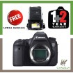 CANON EOS 6D (BODY) (CANON MALAYSIA 3 YEAR WARRANTY) * FREE CAMERA BACKPACK