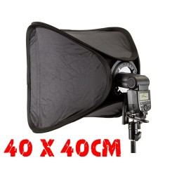 Easy-Folder Softbox Kit 40x40cm For Camera Flash