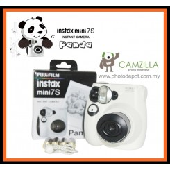 Fujifilm Instax Mini 7s Panda Camera - Limited Edition