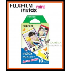 Fujifilm Instax Spring Rabbit for MINI 7S 25 50S - 10PCS Cartoon Film Photo