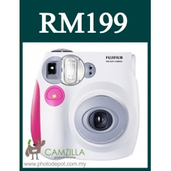 Fujifilm Instax Mini 7S Instant Film Camera Body (Pink)