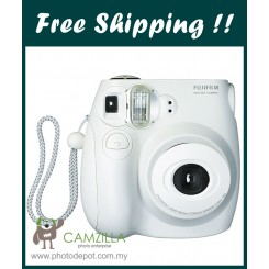 Fujifilm Instax Mini 7S Instant Film Camera Body (White)