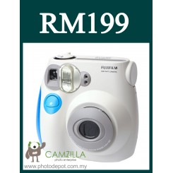 Fujifilm Instax Mini 7S Instant Film Camera Body (Blue)