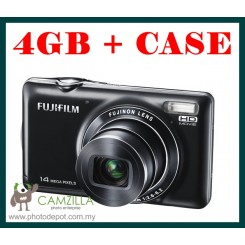 FujiFilm JX370 ( Black ) + 4GB Card + Hard Case ( Fujiflim Malaysia Warranty )