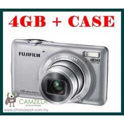 FujiFilm JX370 ( Silver ) + 4GB Card + Hard Case ( Fujiflim Malaysia Warranty )