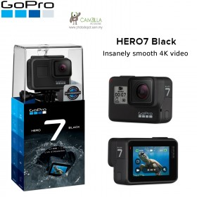 GoPro Hero 7 Black / Hero7 Black 4K Video Action Camera 12MP Waterproof 10 Meter