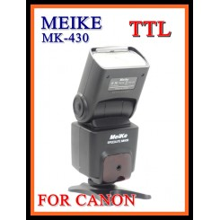 Meike Speedite MK-430 TTL Slave Flash Unit For Canon EOS w LCD Display