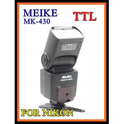 Meike Speedite MK-430 i-TTL Slave Flash Unit For NIKON w LCD Display