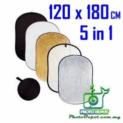 Camzilla 120CM X180CM 5-IN-1 REFLECTOR