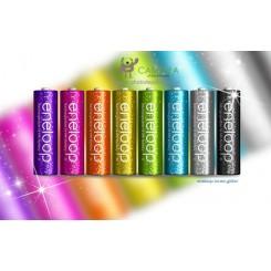 Sanyo eneloop GLITTER batteries Mignon/AA HR-3UTG 8pcs, 2000mAh