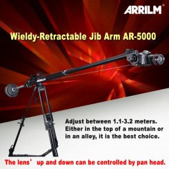 WIELDY ARRILM AR-5000 RETRACTABLE JIB / VIDEO CRANE