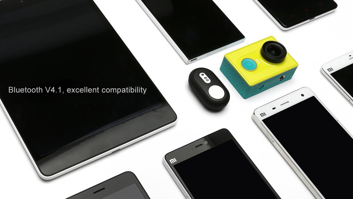 Original Xiaomi Yi Bluetooth Remote Controller 4.1 Version Fits for Xiaomi yi camera